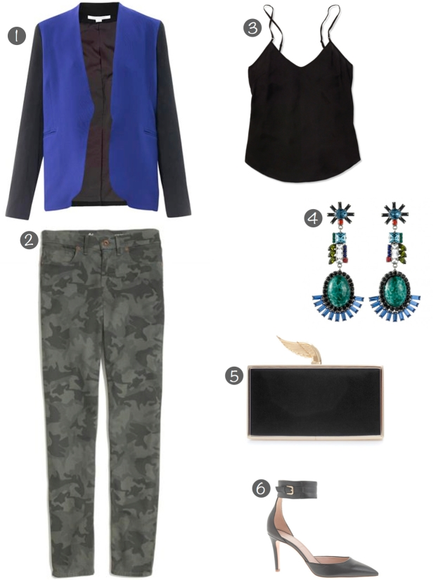 look 1 - mix and match